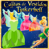 Cajitas Recuerdos Tinker Bell Hadas Piratas Y Princesas