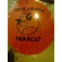 Globos Angry Birds,dra.juguetes,campanita,cars,pocoyo.winnie