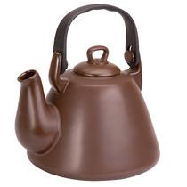 Chaleira De Cerâmica Tropeiro 2300ml Chocolate - Ceraflame