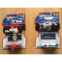 Set 2 Hot Wheels Grand Prix F1 Ferrari Y Williams