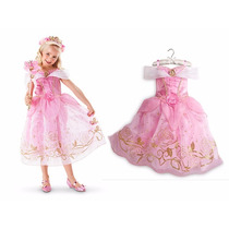 Vestido De Festa Princesa Bela Adormecida. Pronta Entrega