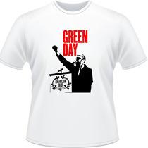 Camiseta Green Day American Idiot Rock Billie Joe Camisa 3
