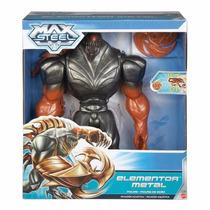 Max Steel Elementor Metal (original) 30 Cm.