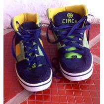 Zapatos Circa Tipo Skate Deportivo De Niño