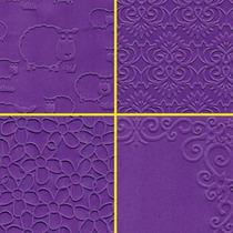 Papel Texturizado Scrapbooking Tarjeteria Souvenirs 120gr 5u