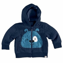 Jaqueta/casaco/blusa Infantil Com Capuz Zig Zig Zaa Malwee