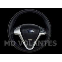 Volante Titanium Ford Comando De Som (jfa) Fiesta / Ka