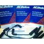 Cables Bujia Aveo + 4 Bujias Acdelco Original