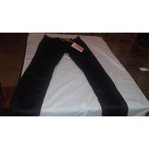 Pantalon Americanino Talle 26 Skinny Negro Nuevo