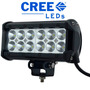 Barra Led 7,5 Pulgadas 36w 4x4 Off Road Todo Terreno 12 Leds