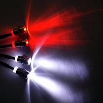 Rc Automodelo Luz De Led 5mm 4 Lampadas Hpi Kyosho Redcat