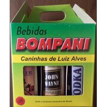 Kit 2 Com 6 Miniatura Cachaça 50 Ml. Bebidas De Luiz Alves