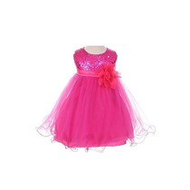 Vestido Para Bebé Ocasión Especial Talla 12 A18 Meses
