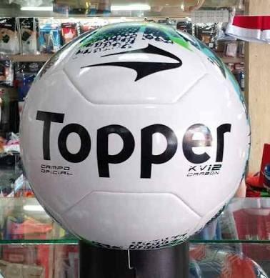 eb0b361411 Bola Futebol Campo Topper Kv Carbon Ii- Costurada À Mão - R  89