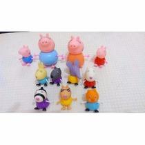 Brinquedo Peppa Pig Família E 7 Amigos (11pcs) Promoção
