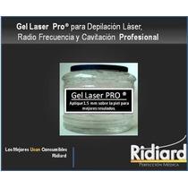 Gel Conductor Laser Cavitación Radiofrecuencia Ultrasonido