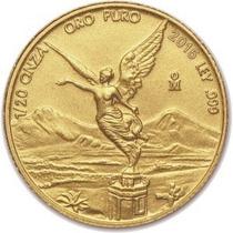 Moneda Libertad Oro .999 Satín 1/20 Oz.
