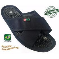 Sandália Chinelo Imãs Magnetizador Palm Massageadora Terumi