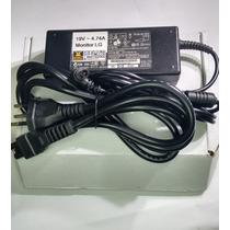 Fonte ( Reforçada ) P/ Monitor Lg D2342p-pn C/ 19 V ~ 4.75a