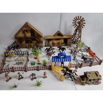 Diorama Casa Estabulo Moinho Fazenda Sitio Chacara Carroça