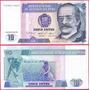 Peru Billete De 10 Intis Año 1987 Sin Circular