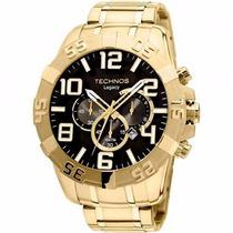 Relógio Technos 0s20im/4p Legacy Dourado Extra Grande Masc