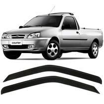 Calha De Chuva Defletor Fiesta Hatch 96 97 98 Courier - 2p