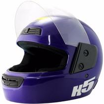 Casco Integral Halcon H5 Mejor Precio + Talles Ruta 3 Motos