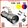 Lampara Tactica 8000 Lumens Cree Led Xp-e R3 Recargable!!!!<br><strong class='ch-price reputation-tooltip-price'>$ 300<sup>00</sup></strong>