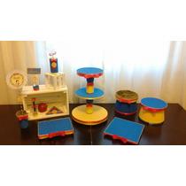 Porta Cupcakes Torre Princesas Blanca Nieves Minnions