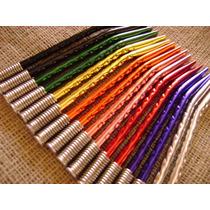 Bombillas Color Anodizadas Niqueladas - $4,69 C/u - Pack 24