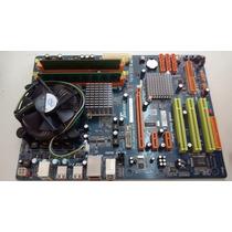 Kit Placa Biostar Tseries Tp43e-combo+ 2duo E7500 +4gb Ddr3