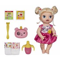 Baby Alive Boneca Hora De Comer Loira Hasbro