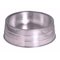 Comedouro Bebedouro Alumínio Pesado Médio - Kit-2unid