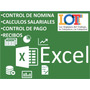 Nomina 2017 Control Recibo De Pago Lottt Plantilla Excel