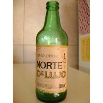 Antigua Botella Porron De Cerveza Norte De Lujo