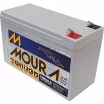 Bateria Moura Estacionária 12v 9ah Vlra Nobreak Alarme Ups