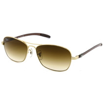 Lentes Ray Ban Tech Fibra Carbono Caravan Rb 8302 001/0051