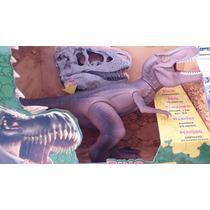 Boneco Dino World Tyrannosaurus Rex 42cm C/ Som - Cotiplás.