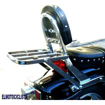 Portaequipaje Motos Hd 250 Mondial Custom Choperas Parrilla