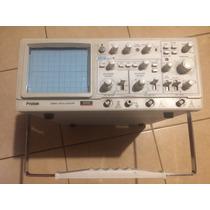 Osciloscopio Protek 6502 20 Mhz Poco Uso.