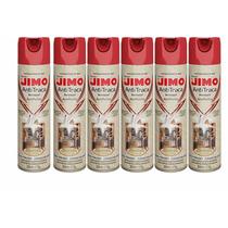 Inseticida Anti Traça Jimo - Spray 300ml - 6 Unidades
