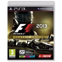 Jogo Novo Lacrado Fórmula 1 F1 2013 Para Playstation 3 Ps3