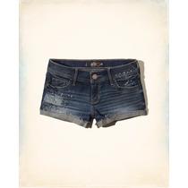 Shorts Jeans Roupa Feminino Hollister Original Bermuda