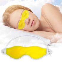 Máscara Dormir Olho Gel Olheiras Óculos Dor Cabeça Panda ?