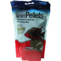 Alimento P/ Peces Ciclidos Cichlid Med. Pellet 212 Gr.