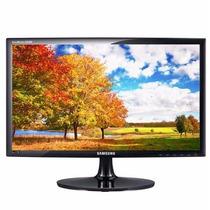 Monitor Widescreen Led 19 S19a300b Samsung C/ Adaptador Hdmi