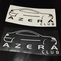 Adesivo Clube De Carro - Club Azera Autorizado Administração