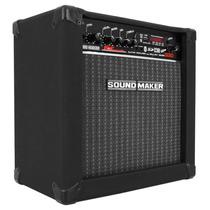 Caixa Amplificada P/ Guitarra Bivolt Sound Maker Cube G30
