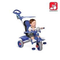 Triciclo Carrinho Passeio Infantil Smart Comfort Bandeirante